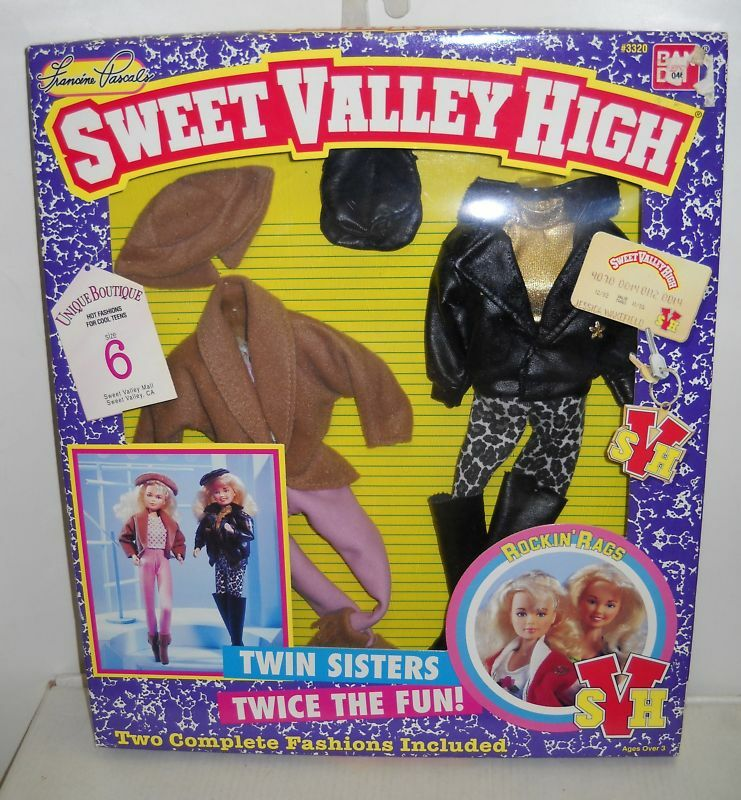 Ban Dai sweet Valley High Rock N trapos Fashions