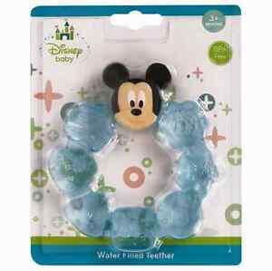 Baby Teether Remplis D'eau Ring Sucettes Mickey Mouse-afficher Le Titre D'origine