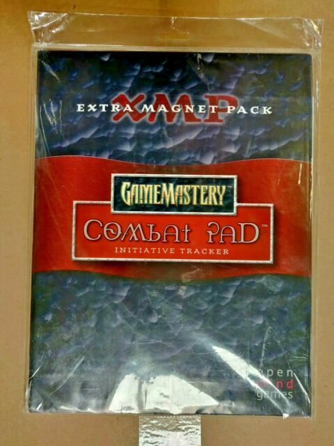 2-Pack Open Mind Games GameMastery Combat Pad Extra Magnet Booster Pack