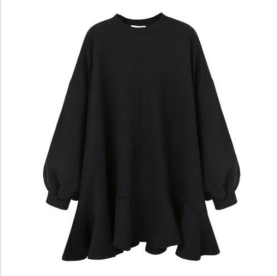 Womens Womens Womens Oversize Hoodie Tunic Dress Sweatshirt Lady Autumn Winter Skirt Overcoat fa6d73