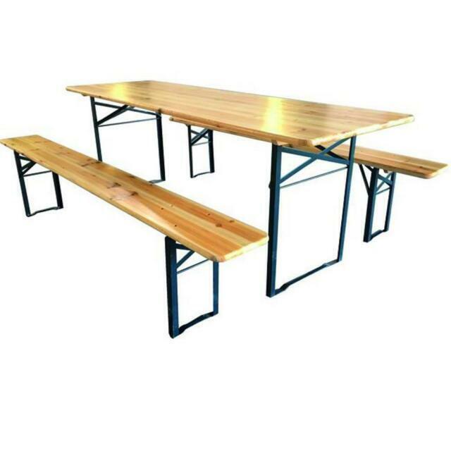 Offerte Tavoli Da Giardino Legno.Set Di Tavoli E Sedie Da Esterno In Legno Acquisti Online Su Ebay