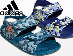 Details about boys adidas sandals Altaswim C kids girls adjustable straps  flip flops slides