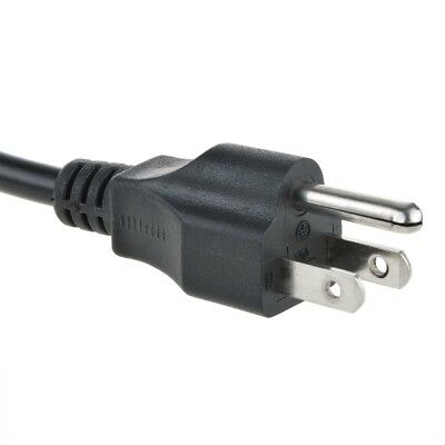 6FT PC 3-Prong Computer Monitor TV ENVISION LCD PLASMA Printer Power Cable Cord