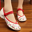 Chinese-Embroidered-Floral-Shoes-Women-Ballerina-Flat-Ballet-Cotton-Loafer-snug thumbnail 15