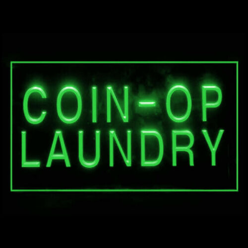 120041 Coin-In Laundry Dry Clean Washing Dryer Display LED Light Sign