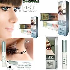 FEG Eyelash Enhancer Eye Lash quick Growth Serum Liquid 100% ORIGINAL 3ml UK
