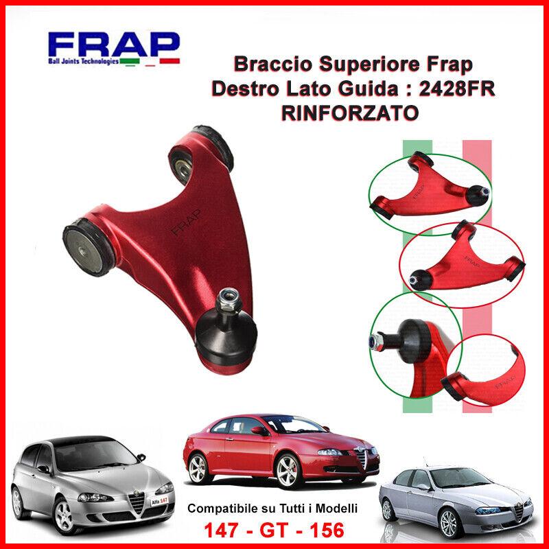BRACCIO OSCILLANTE TRAPEZIO SUPERIORE RINFORZATO DX FRAP ALFA ROMEO 147 156 GT