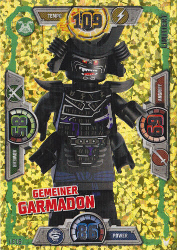 LE16 Gemeiner Garmadon LEGO Ninjago Serie 3 Trading Card Game