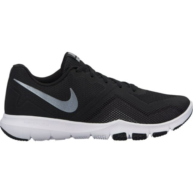 7869977c7e0c Nike Flex Control II 2 Black White Grey Men Cross Training Shoes ...