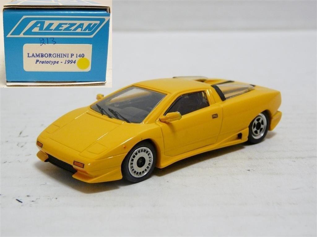 vendiendo bien en todo el mundo ALEZAN 213 1 43 43 43 1994 Lamborghini P140 concepto de resina coche modelo hecho a mano  más vendido