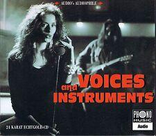 Voices And Instruments Various 24 Karat Zounds Gold CD Audio's Audiophile Vol. 1