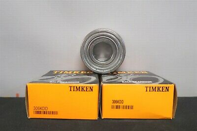 Double Shield 30mm Bore TIMKEN//Fafnir 306KDDG Radial Bearing