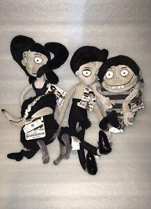Frankenweenie Victor Frankentein Edgar E Gore Elsa Van Helsin Plush Doll Dog Ebay