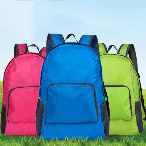 Travel Hiking Backpack Waterproof Outdoor Climbing Daypack Nylon Rucksack Bag US