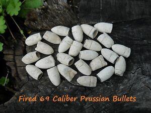 Old Rare Vintage Antique Civil War Relic Fired 69 Caliber Prussian Bullet