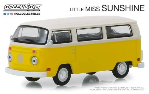 A.S.S NEU GreenLight 1:64 Volkswagen VW T2 Bus Little Miss Sunshine Hollywood