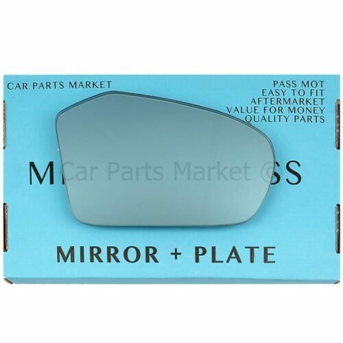 For Mercedes A-Class w169 2004-2008 Right side Blue wing mirror glass plate