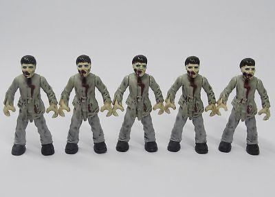 lot of 5  Bloks Call of Duty Zombies Outbreak Walking Dead action figure W3