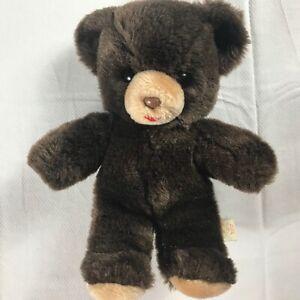 Bauer-Plush-Bear-VTG-Small-9-034-Teddy-Cute-Cuddly-Stuffed-Animal-Kids-Collectible