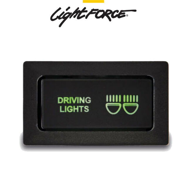 LIGHTFORCE DRIVING LIGHT SWITCH SUIT SWITCH TOYOTA 80 SERIES 1995-97 & 79 STEEL