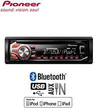PIONEER deh-4400bt Lettore CD svolge iPod iPhone Ricarica e controllo diretto