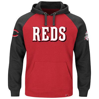 Fanartikel Baseball & Softball Mlb Baseball Hoody/hoodie/kaputzenpullover Cincinnati Reds Cunning Play Hooded Hitze Und Durst Lindern.