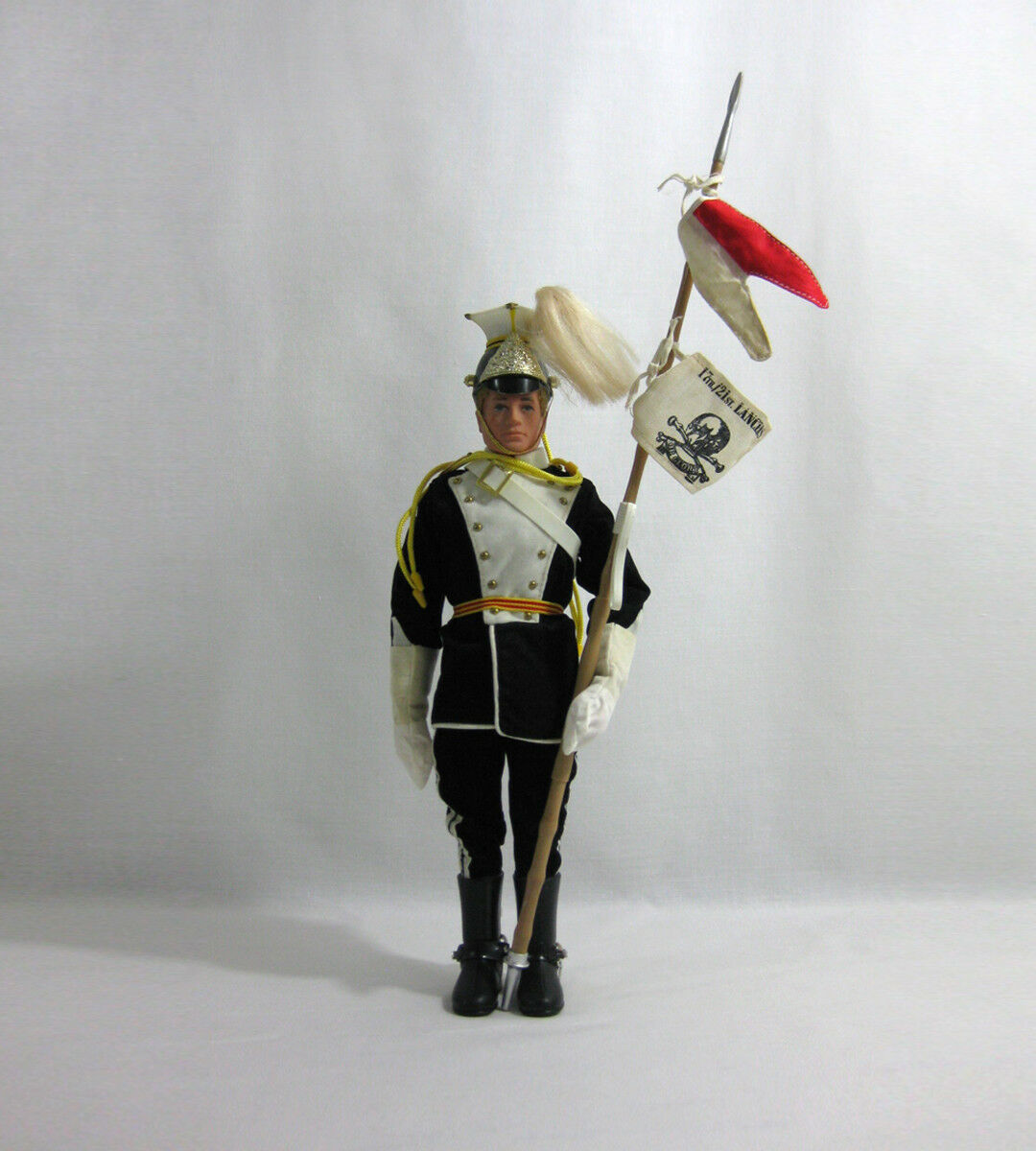 1972 Vintage Action Man ✧ 17th   21st Lancers ✧ Palitoy Hasbro G.I JOE