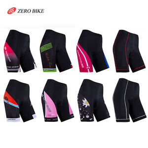 Damen-Radfahren-Atmungsaktiv-ZEROBIKE-Fahrradhose-Cycling-Shorts-Radlerhose