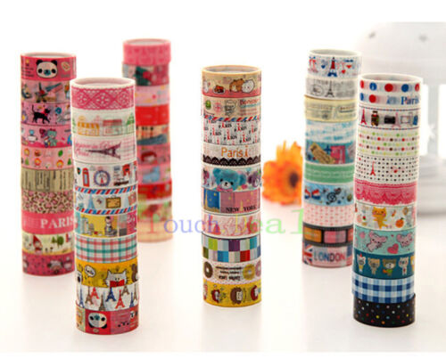 cute kawaii lovely cartoon deco book tape scrapbooking adhesive paper sticker