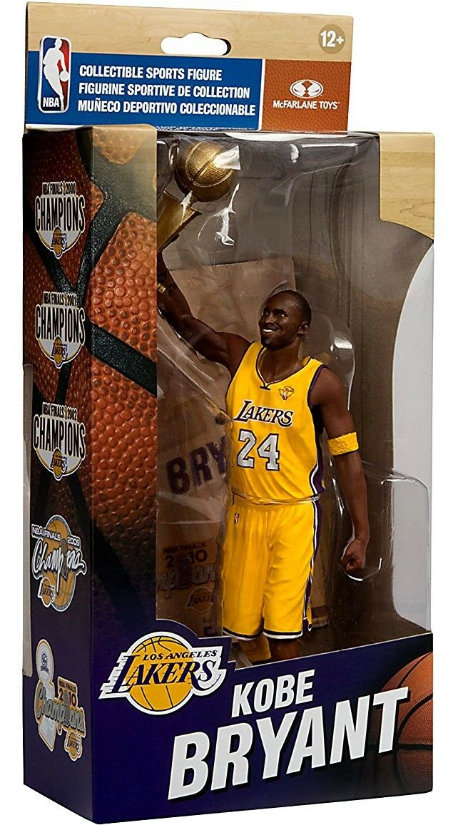 NBA Championship Series Kobe Bryant azione cifra [NBA Finals 2010]