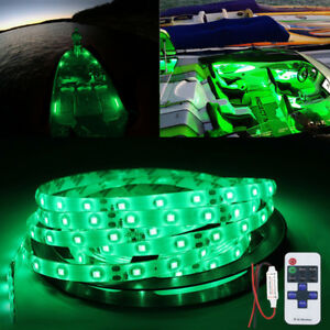 Boat Bow LED Navigation Kit - DOUBLE BRIGHT Red and Green Pontoon Fish 2015