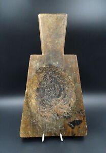 BELLE-ET-ANCIENNE-PLANCHE-A-DECOUPER-ART-POPULAIRE-HAUTE-SAVOIE