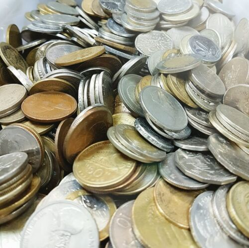MORE THAN 20 Countries ! Lot of 65 Different Coins Of Mixed Foreign World Coin