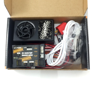 Rc-Car-Engine-Sound-Speaker-amp-LED-lights-Kit-For-Tamiya-Hpi-Traxxas-Losi-Arrma