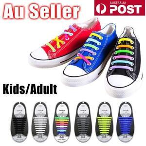 Easy-Lazy-No-Tie-Elastic-Silicone-Shoe-Laces-Shoelaces-Unisex