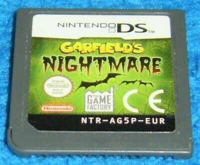 Nintendo Ds Game Garfield S Nightmare Ebay