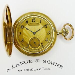 A-Lange-amp-Soehne-Glashuette-I-SA-18ct-Gold-Taschenuhr-1A-Qualitaet-Stammbuch