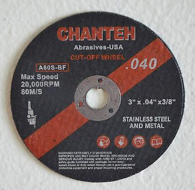 "20pcs 6 inch x .045/"" x 7//8/"" H/&M ABRASIVES Cut-off Wheel Cutting Disc Type 1"