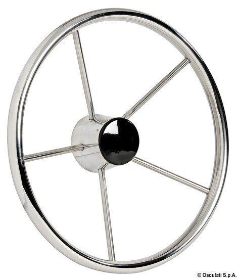 Volante inox 5 razze 380 mm | Marca Osculati | 45.165.37