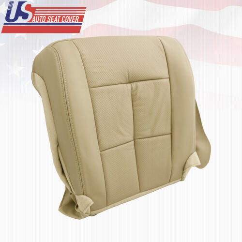 2007 thru 2014 Lincoln Navigator AWD Passenger Bottom Perforated Seat Cover Tan
