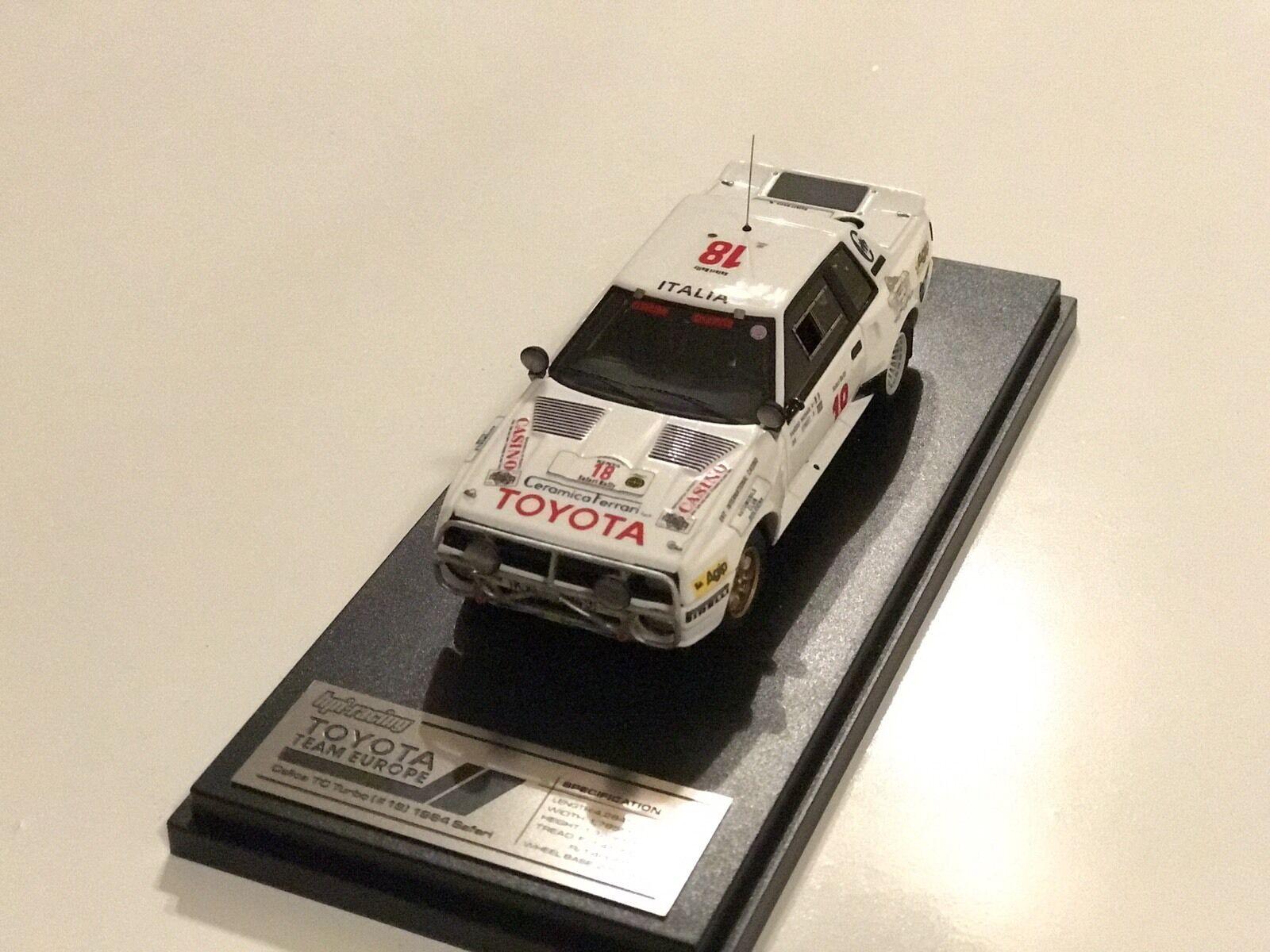 LAST ONE  HPI  8939 Toyota Celica Twincam Turbo 1984 Safari Rally  model