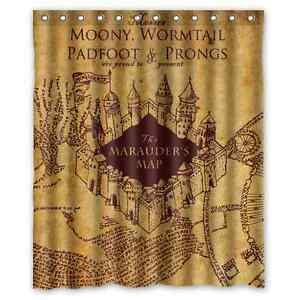 High Quality Bathroom Harry Potter Shower Curtain 60 X 72