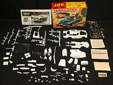 James Bond 007 Aston Martin Goldfinger Airfix 1/24 Scale Model Kit (NM) 1965