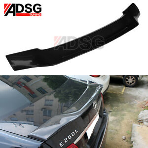 Details about Renntech Style Carbon Fiber Rear Trunk Spoiler For Mercedes -  Benz E Class W212