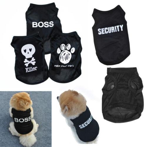 Summer Pet Puppy Small Dog Cat Fashion Clothes Dress Vest T Shirt Apparel Cloth