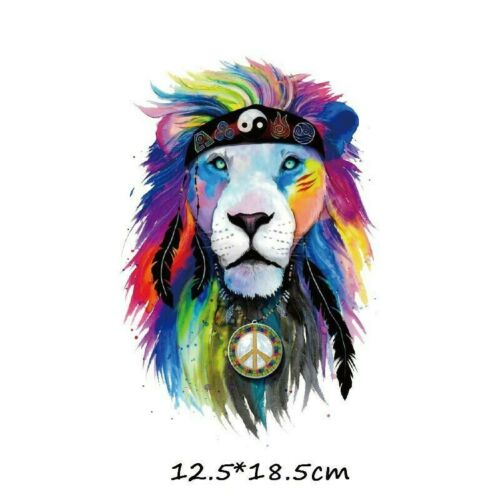 Colorful Animal Clothes Patches Iron on Heat Transfer Clothing DIY T-shirt Patch