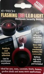 E-Tech-Dummy-Fake-Flashing-Red-LED-Light-Car-Home-Caravan-Security-Theft-Alarm