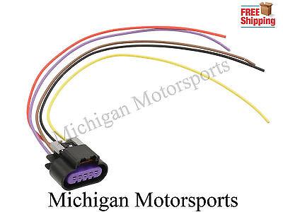 5 Wire MAF Sensor Wiring Connector LS3 LS7 Pigtail GM Mass Air Flow Harness  | eBayeBay