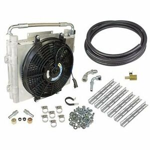 FITS-94-12-ONLY-DODGE-RAM-DIESEL-XTRUDED-DOUBLE-STACKED-AUXILIARY-TRANS-COOLER