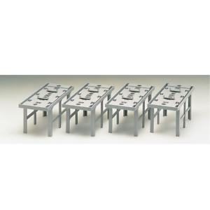 Tomix 3041 Concrete Piers for Double Tracks 4pcs N